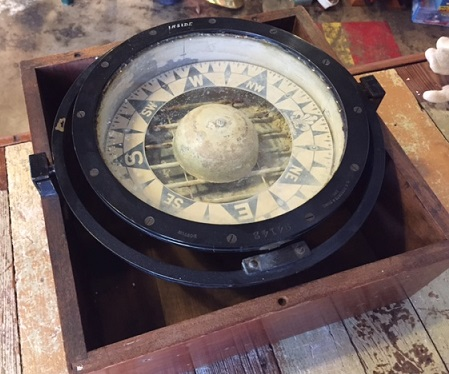 ES Ritchie Sons Inc Compass In Box